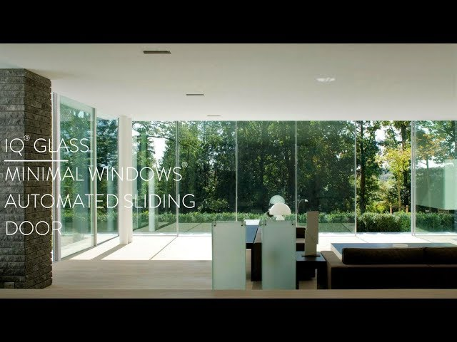 Automated Sliding Door I minimal windows®