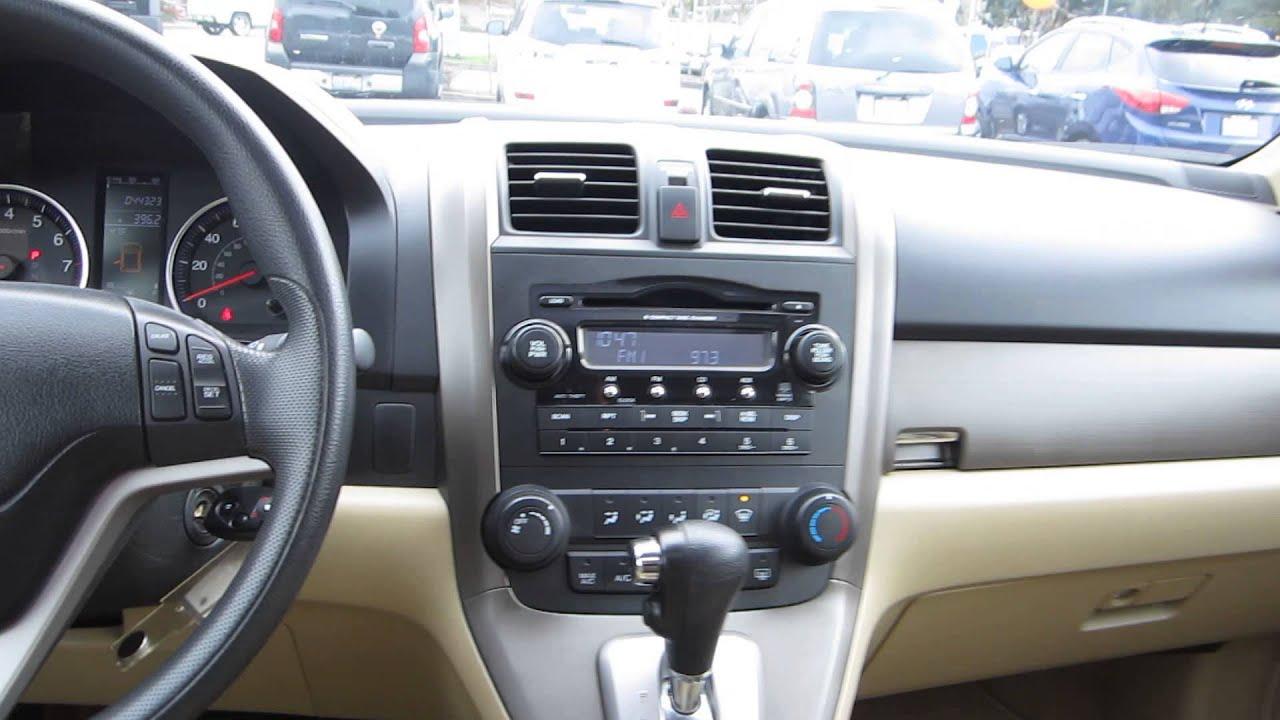 2007 honda crv interior