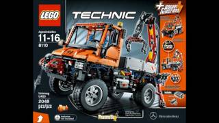 LEGO Technic 2011 summer sets - official LEGO pictures