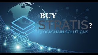 Buy Stratis Coin Before Moon Shot in 2018?