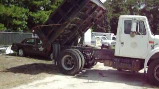 GovDeals: 1996 International 4700 W/ Godwin Dump Body