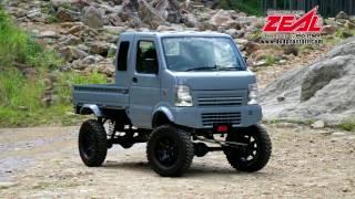 "Kei Truck + SUZUKI JIMNY = ""Agetra"" is Japanese style.PRO STAFF アゲトラ"