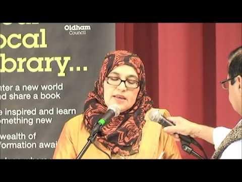 CLF GHAZAL ANSARI At Allama Iqbal Day Oldham 21st April 2012. Mushaira