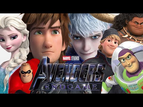 I Love You 3000. AVENGERS: ENDGAME Trailer (Disney/Pixar/Dreamworks Style)