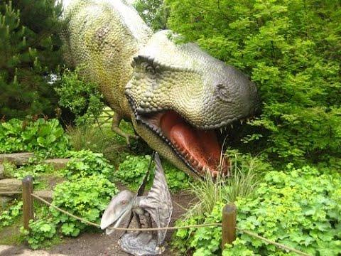 Blackpool Zoo Dinosaur Safari full walk through