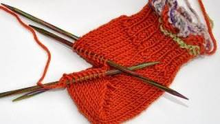 Repeat youtube video Socken stricken * Sockenkurs #8 * Bumerangferse Standardmethode Jojoferse