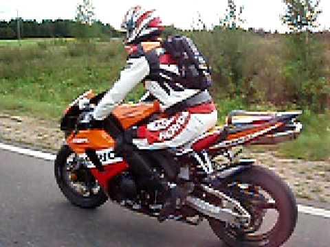 Honda Cbr1000rr Repsol 2006 In Lithuanian Youtube