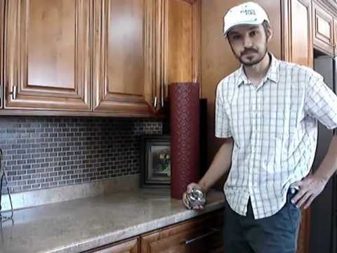 Kitchen Backsplash Rolls Grohe Faucet Parts What Are Faux Tin Youtube