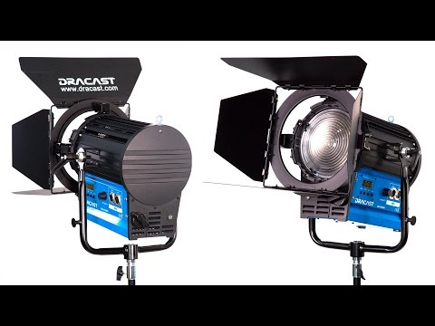 FILM GEAR: Dracast Fresnel Daylight LED Light