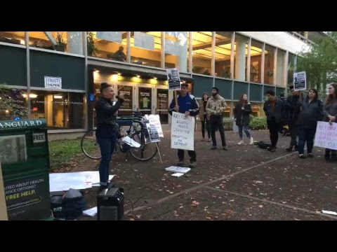 Protest at PSU