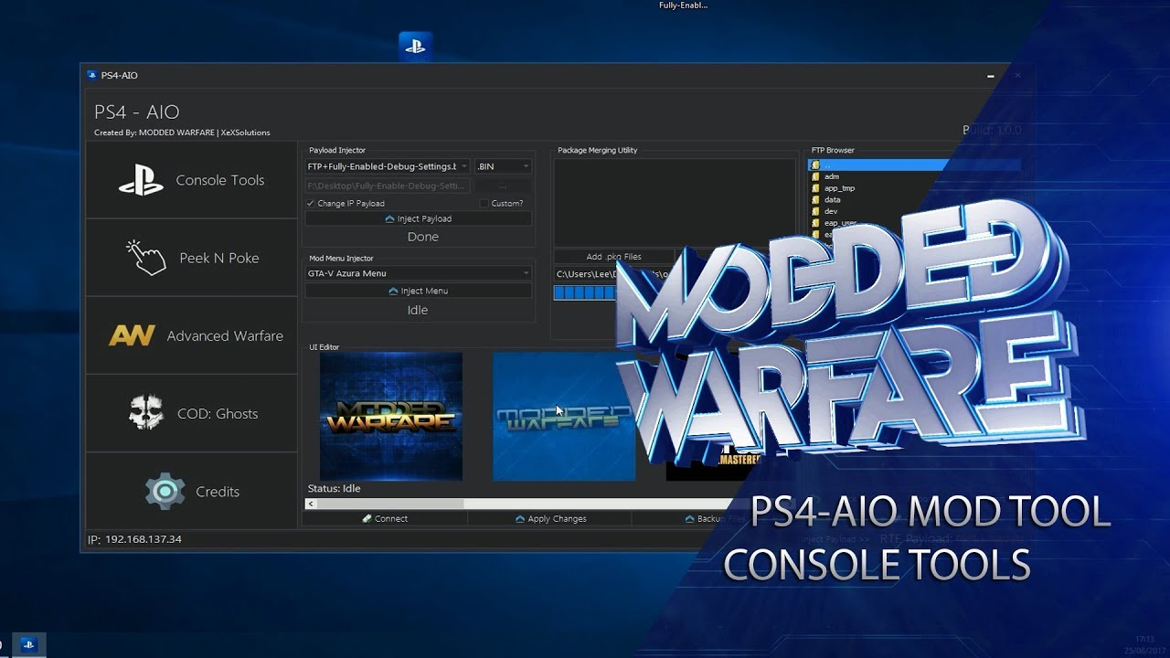 Tools - PS4-AIO Release - All In One Tool for 1 76 | Se7enSins