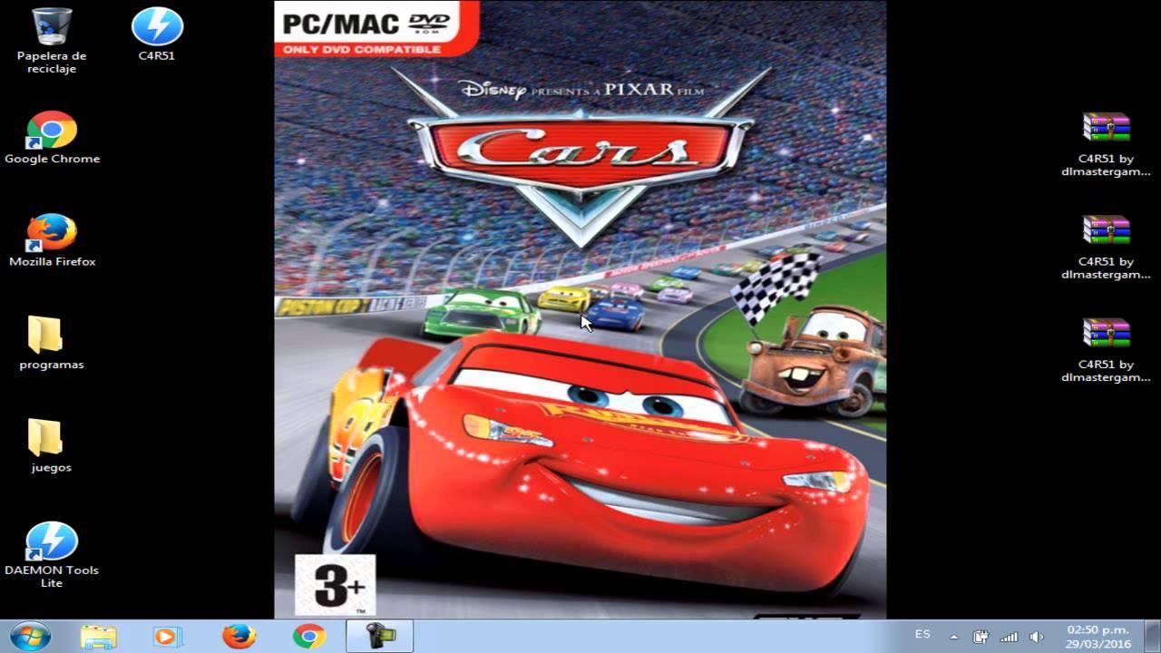 Pixar Cars Video Game