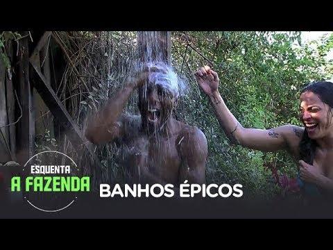 ESQUENTA A FAZENDA | Banhos Épicos