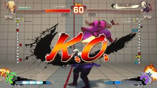 Combat Ultra Street Fighter IV - Gen vs Seth