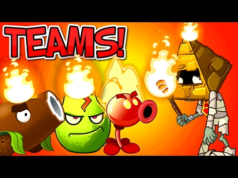 TEAMS Plants vs. Zombies 2 PYRAMID HEAD ZOMBIE PART 3 ✔