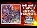 Yu-Gi-Oh Lost World Dinosaur Deck Profile   3rd Place Holbæk Regional May 2018