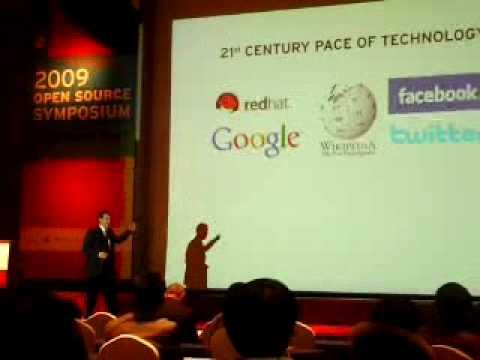 2009 opensource symposium redhat ceo speech in seoul, korea