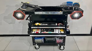 THE GREATEST DETAILING TROLLEY? Plus My Trolley Setup