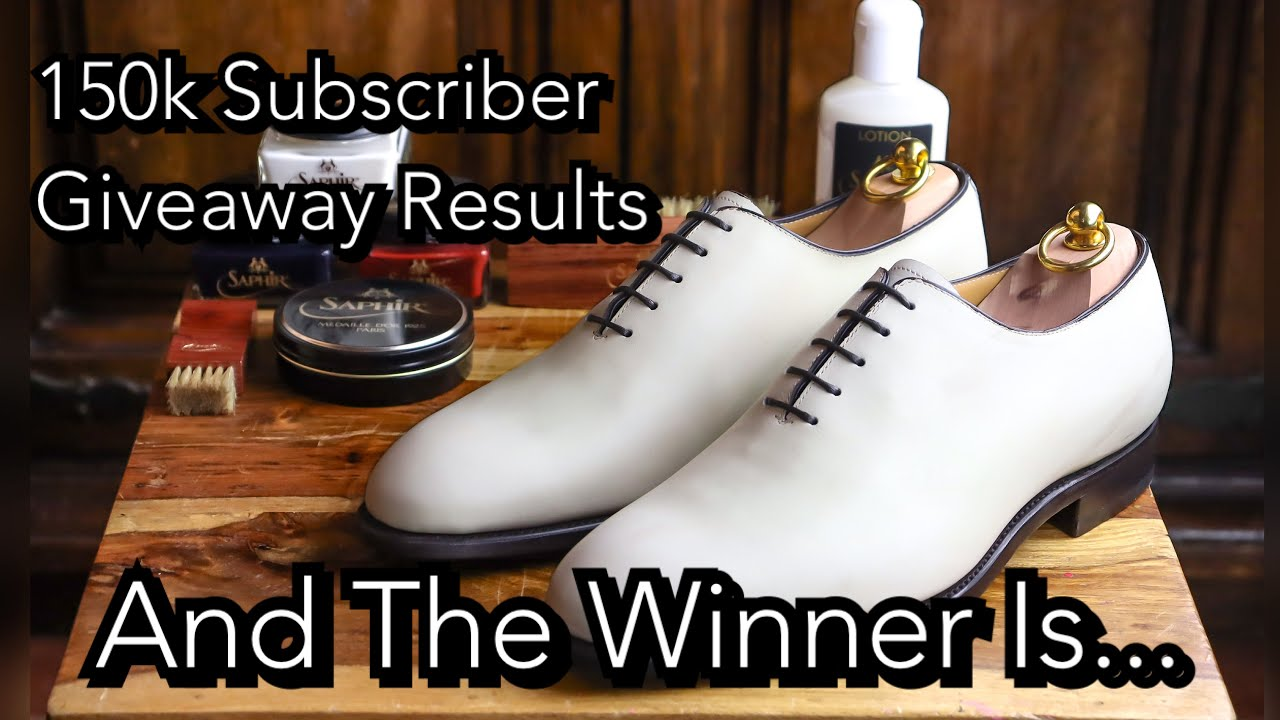 THE WINNER of the 150k Subscriber giveaway is...