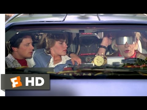 Back to the Future Part 2 112 Movie CLIP  We Dont Need Roads 1989 HD