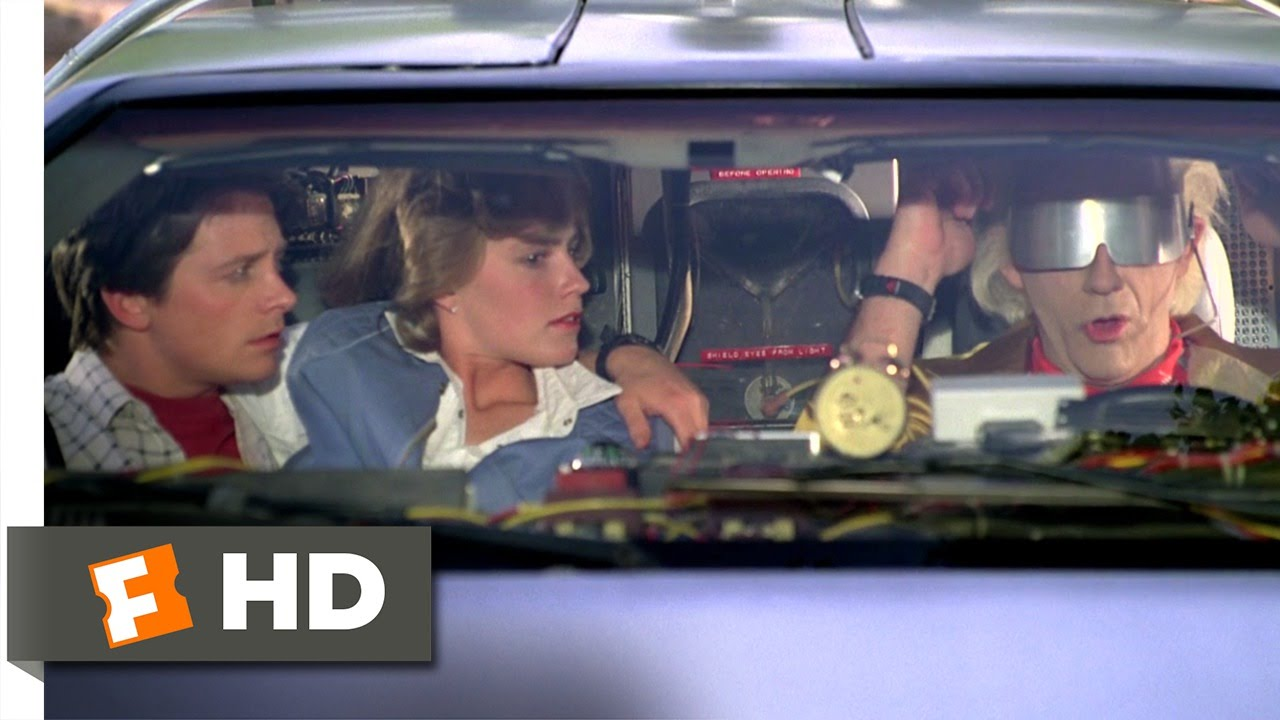 Back To The Future Part 2 112 Movie Clip We Dont Need Roads