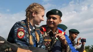 Indo-Russian National Cadet Corps Youth Exchange Program 2017 in Perm, Russia