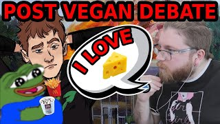 Vaush Reacts: Post Vegan Debate (Ask Yourself's Response to Vaush)