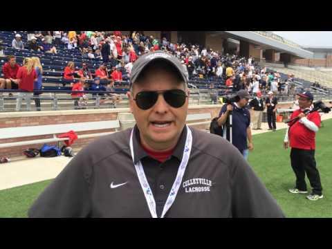 Gary Dennington, Colleyville (Texas) Varsity Head Coach, 05/15/16 THSLL Championship
