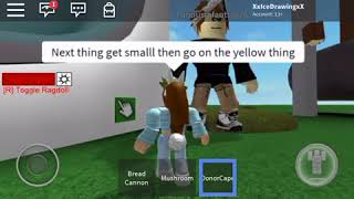 Playing R15 rig rag doll roblox