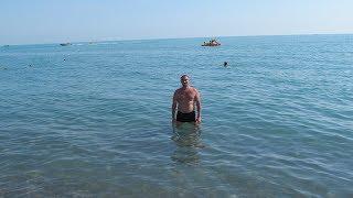 Лазаревское | Пляж Лагуна, цены на обед в столовой | День 3 часть 2