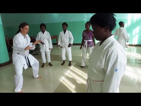In DR Congo, karate helps rape victims rebuild their lives