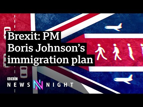 Brexit: Could a points based immigration system work in the UK? - BBC Newsnight