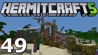 Minecraft Hermitcraft S5 Ep. 49- Jurassic Park Prank!