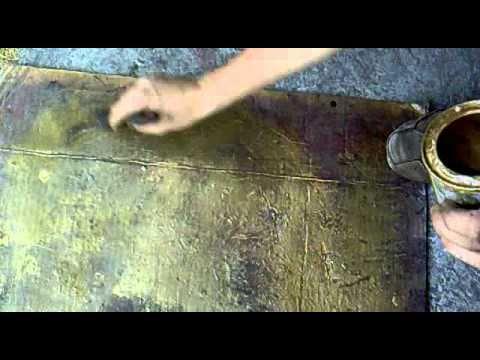 Como a ejar hierro forjado youtube - Pinturas para metal ...