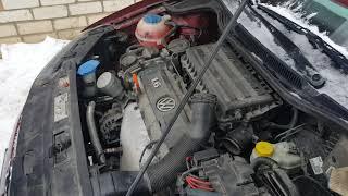 VW POIO седан ,как убрать воздушную пробку с системы охлаждения