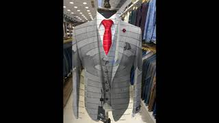 Классический костюм-тройка мужской.