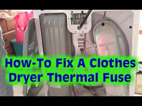 Kenmore/Whirlpool Clothes Dryer Repair- The Most Common Problem on