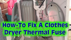 Kenmore/Whirlpool Clothes Dryer Repair- The Most Common Problem