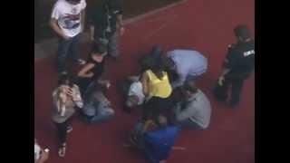 Caída del Escenario Luis Chataing Por todos los medios Barquisimeto 25Mayo