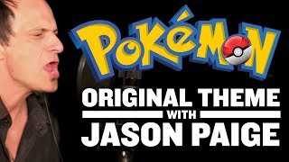 Original Pokemon Theme Singer Jason Paige In Studio Full Pokemon Theme Song