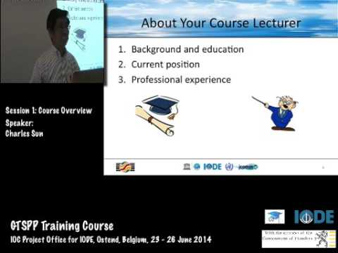 GTSPP Training Course 2014- Course Overview, by Charles Sun