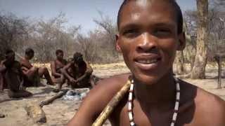 SAN (aka BUSHMAN) PEOPLE - NAMIBIA