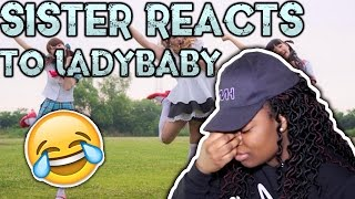 Matthew Haynes's sister Amanda Haynes reacts to LADYBABY! Subscribe...