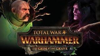 Total War WARHAMMER - Grim & The Grave Gameplay Trailer