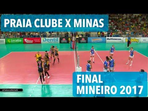 Praia Clube x Minas - Final - Mineiro de Vôlei Feminino 2017