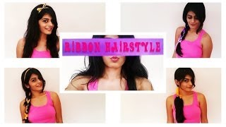 Four Easy Hairstyles With Ribbons Thumbnail