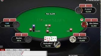 Poker Turbo Sit & Go SnG Tournament 9 Players Buyin $1.50 No Limit Hold'em – 001