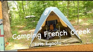 Camping French Creek pt1 What an adventure!