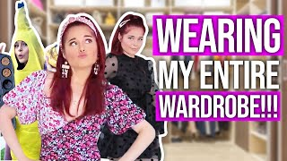 Wearing My Entire Closet in On…