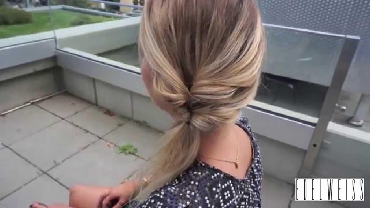 Tutoriel Coiffure En Moins De 5 Minutes Youtube